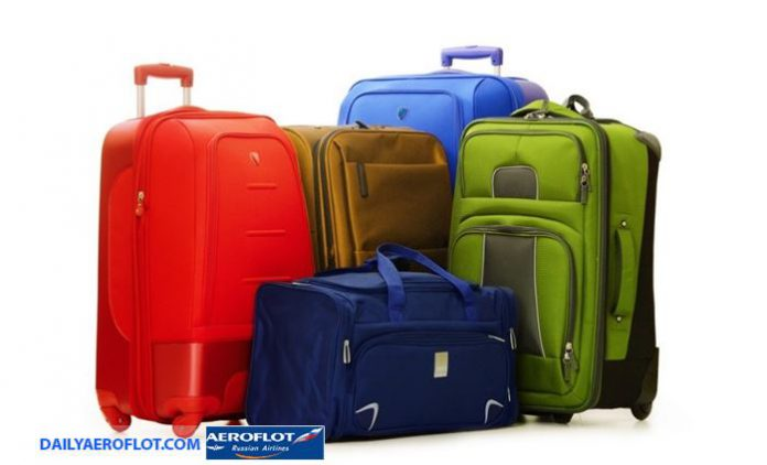 Hành lý Aeroflot trên chuyến bay