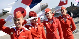 Tiếp viên hãng hàng không Aeroflot