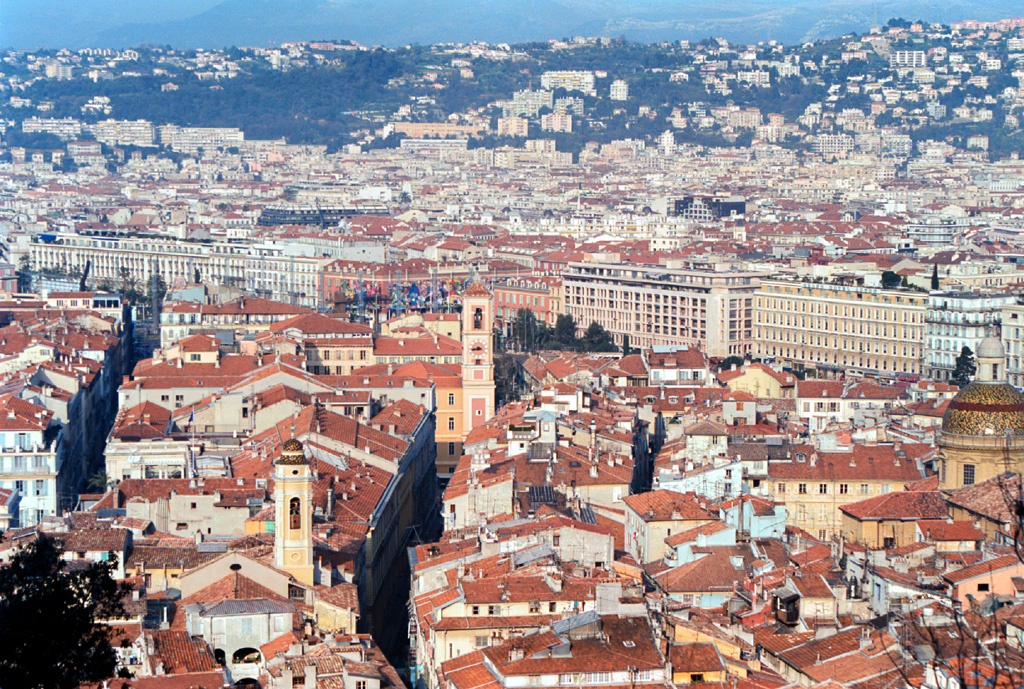 Toàn cảnh thành phố Nice