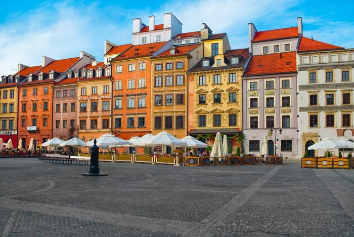 Vé máy bay giá rẻ đi Warsaw