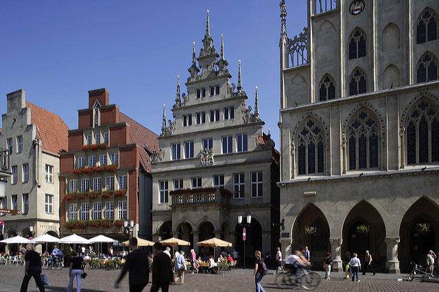 Du lịch tới thành phố Munster, Đức