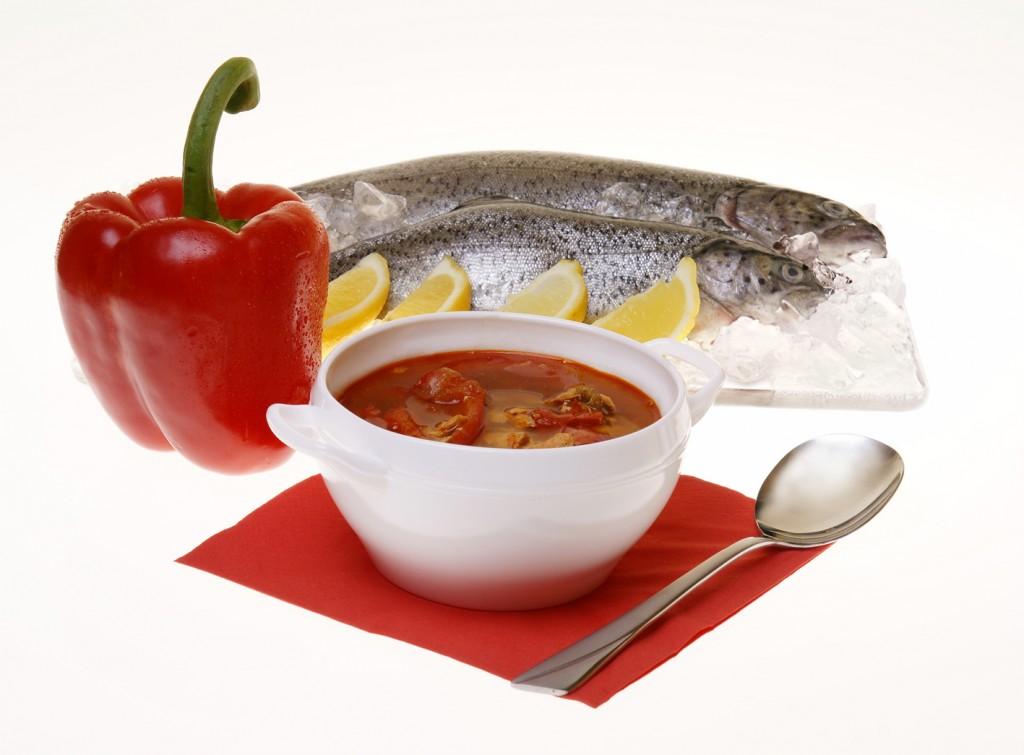 Halaszle món súp nổi tiếng của Hungary