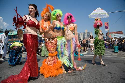 Ngày hội những nàng tiên cá ở New York