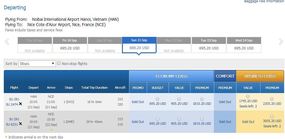 Vé máy bay giá rẻ đi Nice