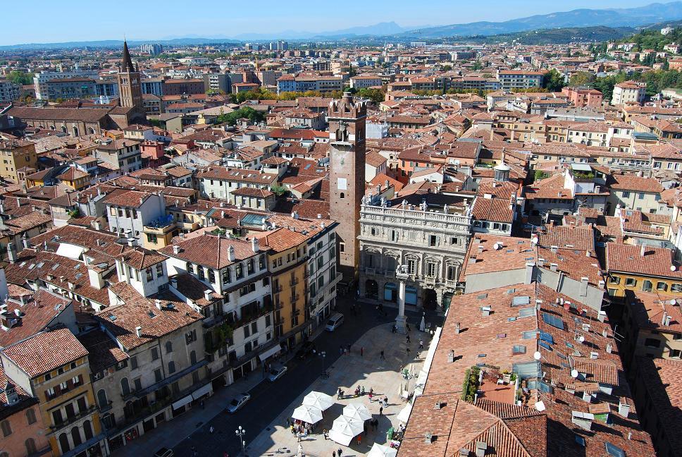 Verona thành phố tình yêu của Italia