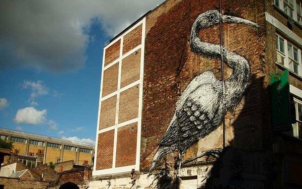 Chiêm ngưỡng các tác phẩm Graffiti nổi tiếng ở London