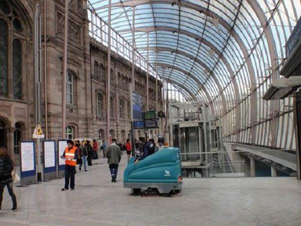 Nhà ga Strasbourg kiệt tác kiến trúc của Pháp