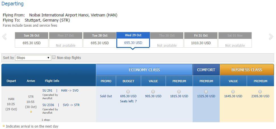 Vé máy bay đi Stuttgart giá rẻ
