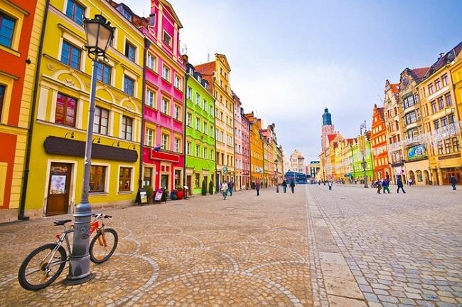 Tham quan thành phố Wroclaw mơ mộng ở Ba Lan