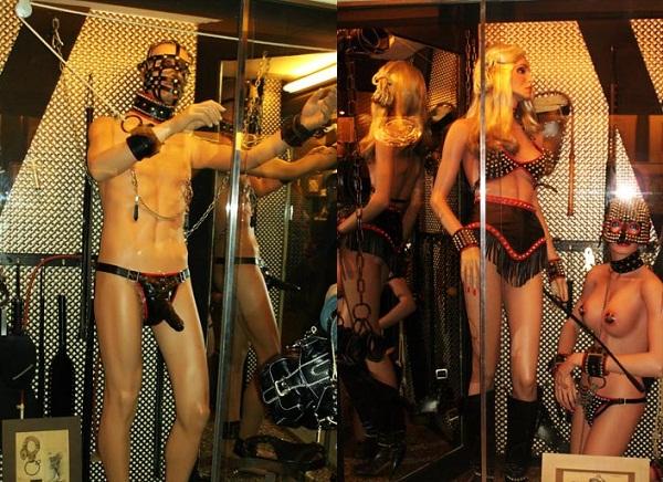 Đỏ mặt với bảo tàng sex ở Amsterdam