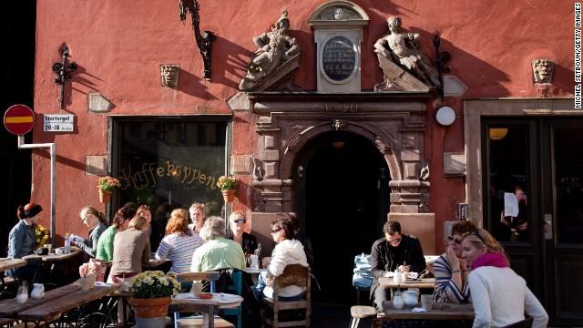Ghé thăm khu phố cổ Gamla Stan