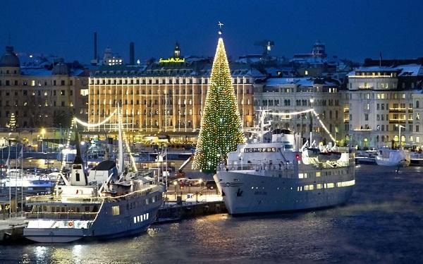 Mùa giáng sinh ở Thụy Điển