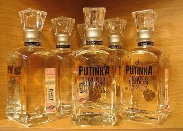 Putinka một loại Vodka Nga