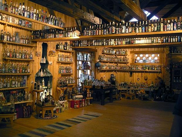 Bảo tàng rượu Vodka ở Mosscow