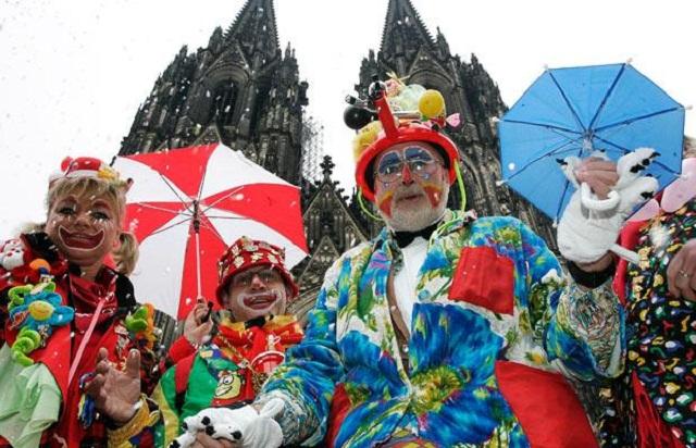 Lễ hội Carnival ở Cologne