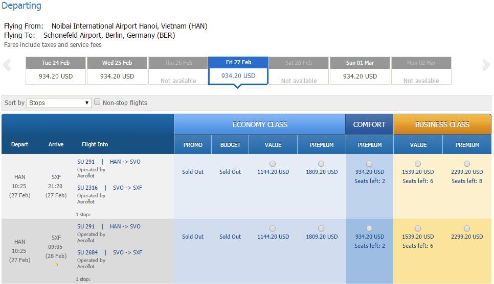 Vé máy bay đi Đức bao nhiêu tiền