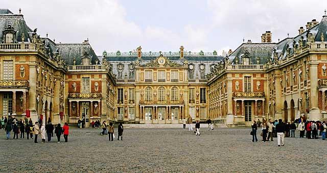 Lâu đài Chateau de Versailles