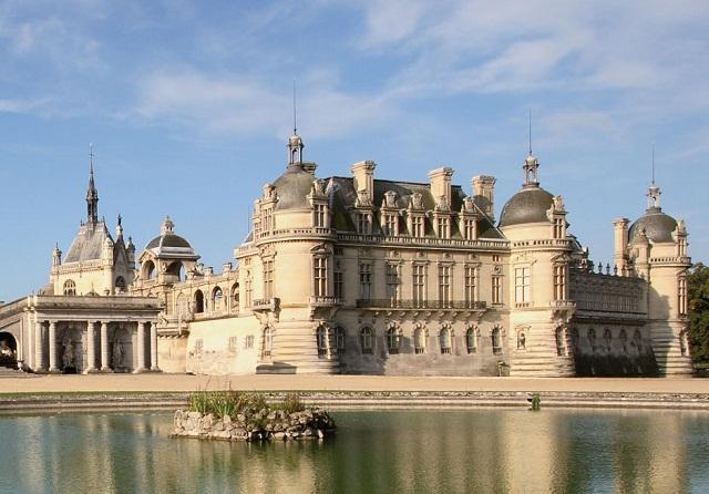 Lâu đài Chateau de Chantilly