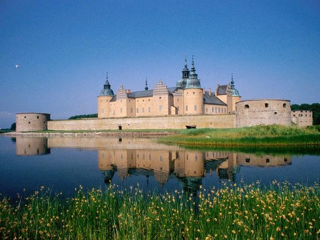Một lâu đài ở Thụy Điển