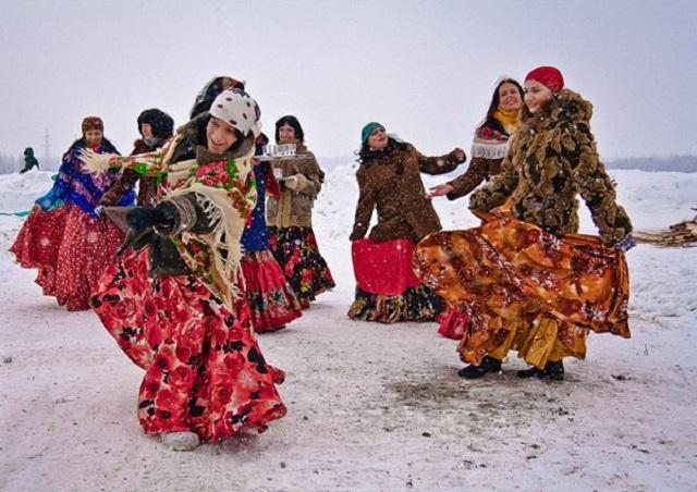 Lễ hội tiễn mùa đông ở Nga