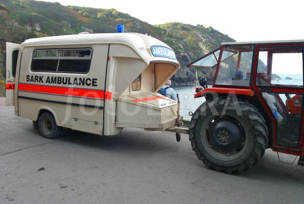 Tractor Ambulance Sark