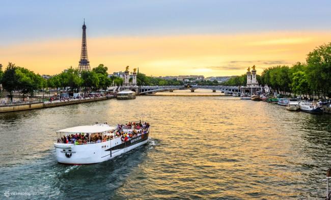 dòng sông Seine