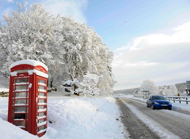 mùa đông Anh