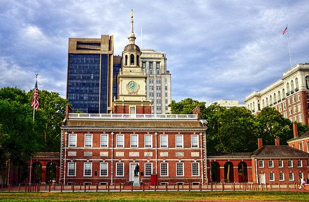 tòa nhà độc lập Philadelphia