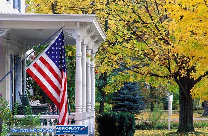 Mùa thu nước Mỹ