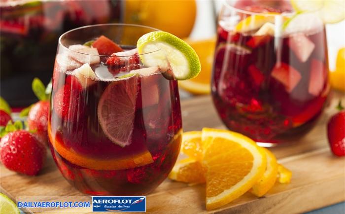 Sangria cocktail