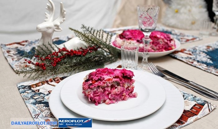 Món ngon ngày Tết của người Nga