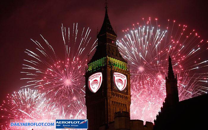 Người dân Anh chào đón năm mới