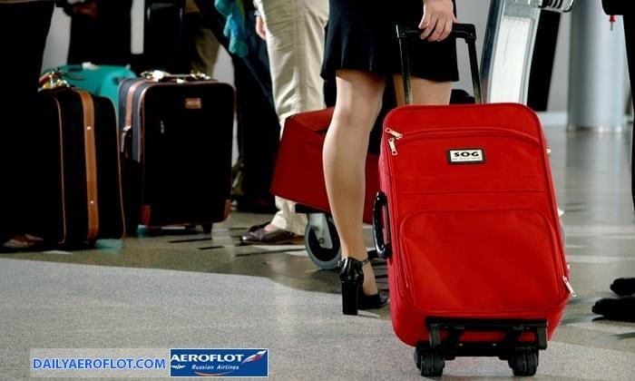Quy định hành lý quá cước Aeroflot