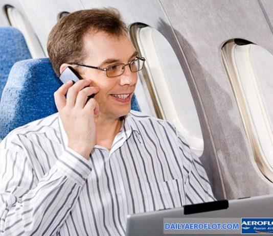 Có được sử dụng thiết bị công nghệ trên chuyến bay Aeroflot