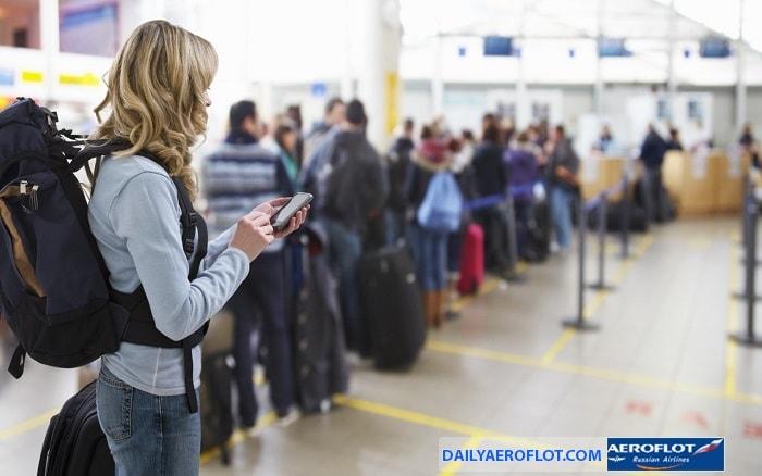 Hành lý Aeroflot miễn cước theo hành trình