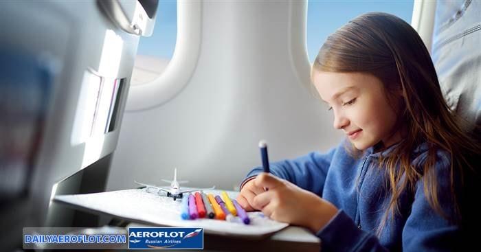 Dịch vụ giải trí dành cho trẻ em trên máy bay