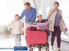 Trẻ em đi máy bay Aeroflot